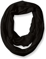 D&Y Women's Lace Jersey Mixed Media Scarf