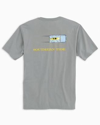 Southern Tide Sand Tire Tracks T-Shirt