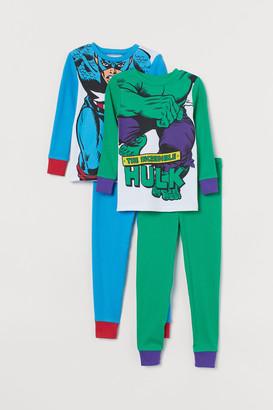 H&M 2-pack Jersey Pajamas