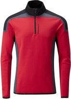 J Lindeberg Golf Kimball Blocked T Neck Sweater