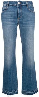 Stella McCartney cropped flared jeans