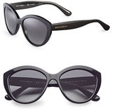 Dolce & Gabbana 56mm Round Cat-Eye Sunglasses