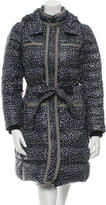 Tory Burch Printed Down Coat