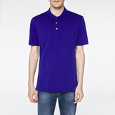 Paul Smith Men's Indigo Supima-Cotton Polo Shirt