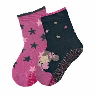 Sterntaler Girl's Glitzer Flitzer Air Dp Fee Calf Socks