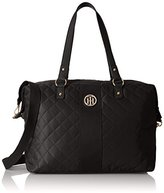 Tommy Hilfiger Isla Quilted Nylon Weekend Duffle Bag
