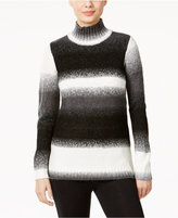 G.H. Bass & Co. Striped Mock-Neck Sweater