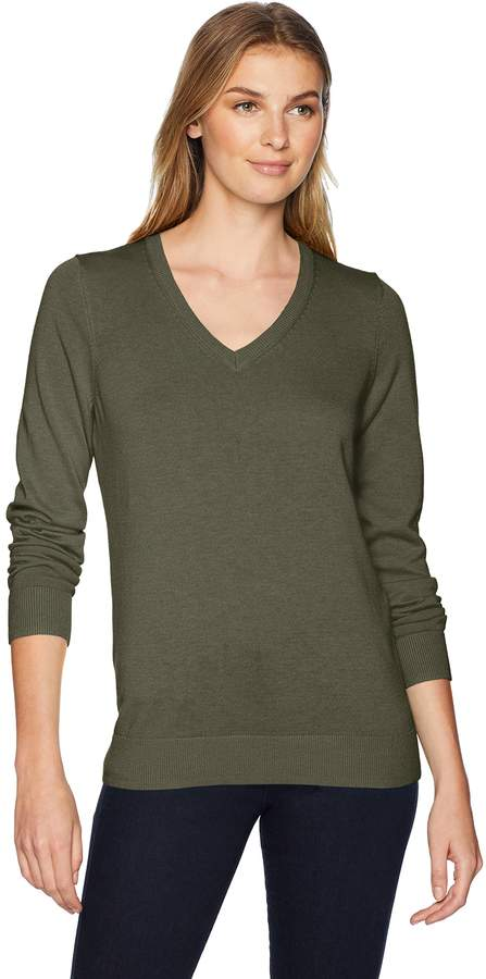 560ace4b693c07 Olive Green Sweater Women - ShopStyle Canada