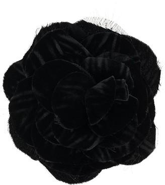 Philosophy di Lorenzo Serafini Velvet Flower Brooch