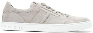 Tod's Nubuck Low-Top Sneakers