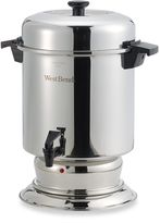 West Bend 55-Cup Commercial Stainless Steel Coffee Urn
