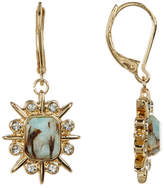 Jessica Simpson Stone Burst Drop Earrings