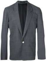 E. Tautz one button blazer - men - Viscose/Wool - 36