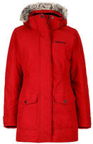 Marmot Geneva Hooded Coat with Faux Fur Trim