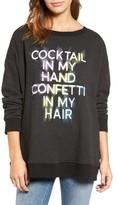 Wildfox Couture Women's Cocktail In My Hand Sweatshirt