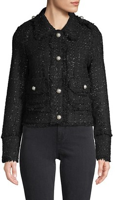DOLCE CABO Textured Cropped Jacket