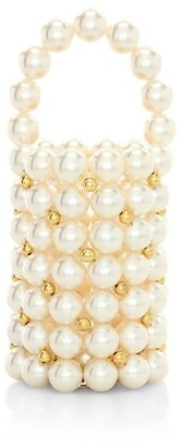 VANINA Inflorescence The Pearl Comino Top Handle Bag