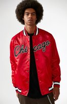 Starter Chicago Bulls Retro Satin Bomber Jacket