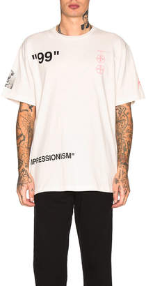 Off-White Boat Tee in Off White & Multi | FWRD
