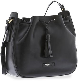 The Bridge Florentin Genuine Leather Bucket Bag