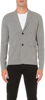 Burberry Wool and cashmere-blend knitted blazer