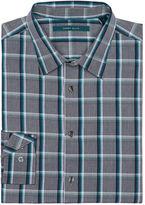 Perry Ellis Multi Color Heather Plaid Shirt