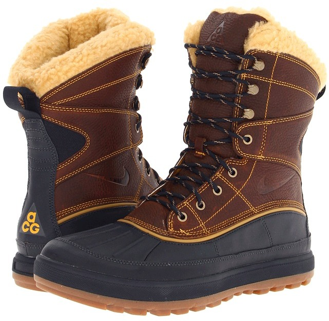 Nike Woodside II High Boot (Black/Black/Black/Black) - Footwear