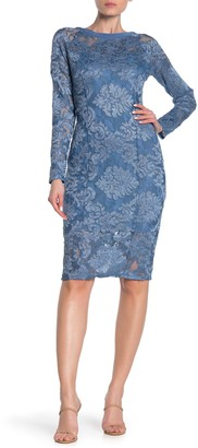 Marina Lace Long Sleeve Dress