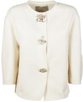 Ermanno Scervino Floral Button Jacket