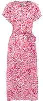 Primrose Park Fiona Pink Leopard Dress - X Small