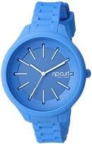 Rip Curl Women's 'Horizon' Quartz Plastic and Silicone Sport Watch