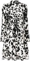 MSGM dalmatian dot dress - women - Silk - 40