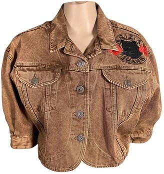 Krizia Brown Cotton Jacket for Women
