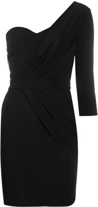 Elisabetta Franchi One Shoulder Dress