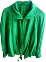 Escada Green Silk Jacket for Women