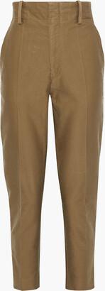 Etoile Isabel Marant Goah Cotton-twill Straight-leg Pants
