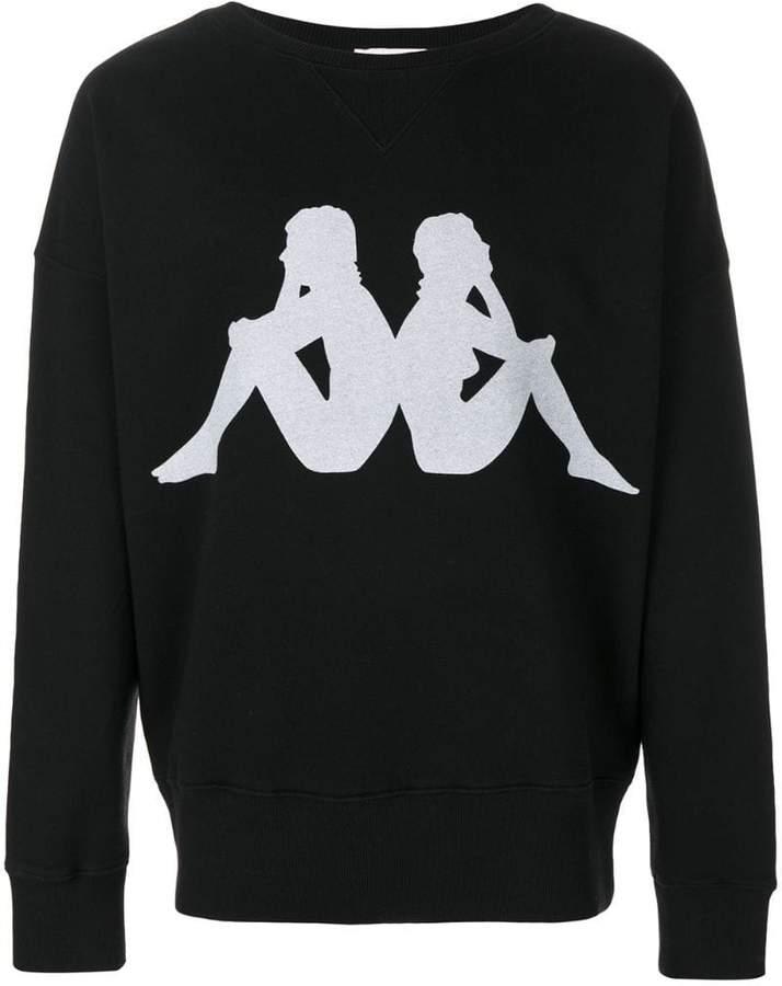 Faith Connexion x Kappa logo sweatshirt