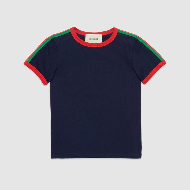 Gucci Children's T-shirt with Kingsnake