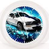 """Ikea Mustang Shelby Cobra Wall Clock 10"""" Will Be Nice Gift and Room Wall Decor W184"""