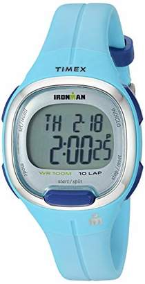 Timex Women's TW5M19500 Ironman Transit Mid-Size Resin Strap Watch