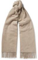 Acne Studios Canada Mélange Virgin Wool Scarf - Taupe