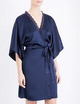 Stella McCartney Clara Whispering silk dressing gown