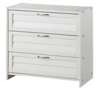 Donco Kids 3 Drawer Chest for Low Loft