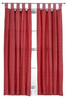 """Tadpoles Basic Solid Red 2-pc. Set 63"""" Curtain Panels"""