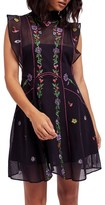 Free People Women's Riviera Embroidered Minidress