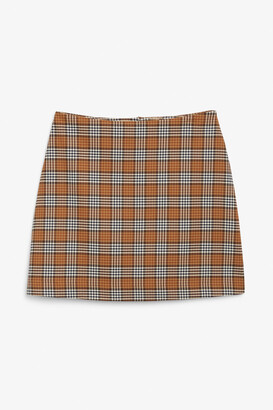 Monki A-line mini skirt