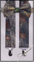 Tuxedo Park Suspender & Bow Tie Set (Adult, Camouflage)