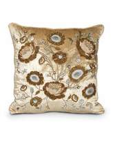 Jay Strongwater BOUQUET 20X20 PILLOW