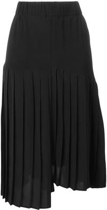 Isabel Marant Asymmetric Pleated Skirt