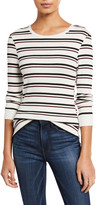 Frame 70s Long-Sleeve Striped Top